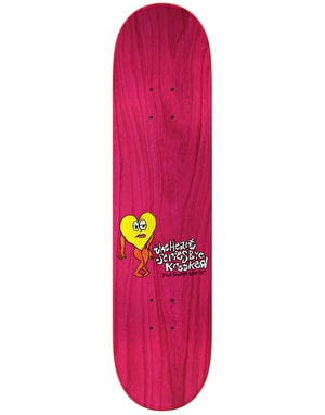 Krooked Anderson The Heart Skateboard Deck - 8.25