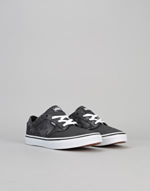 Vans Atwood Boys Skate Shoes - Camo/Black