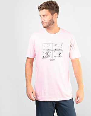 Theories How They Got Here T-Shirt - Pink