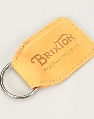 Brixton Tribute Key Chain - Natural