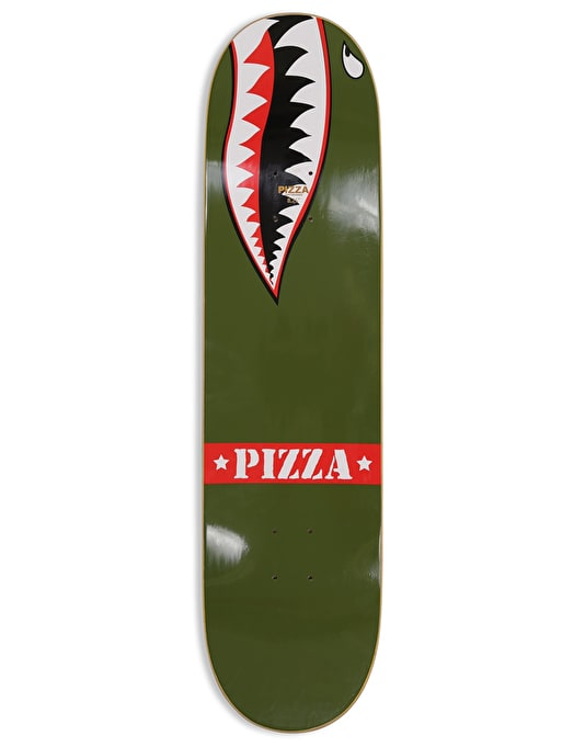Pizza Vieira WWIII Skateboard Deck - 8.375""