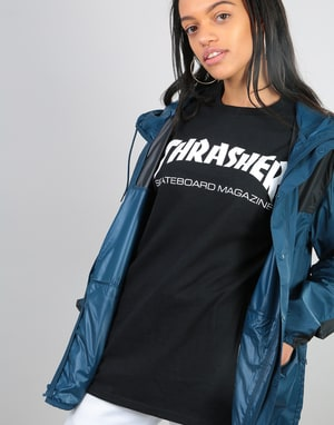 Thrasher Womens Skate Mag Oversized T-Shirt - Black
