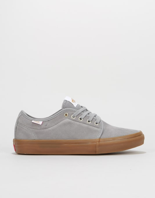00a85264e4e066 Vans Chukka Low Pro Skate Shoes - Frost Grey Gum