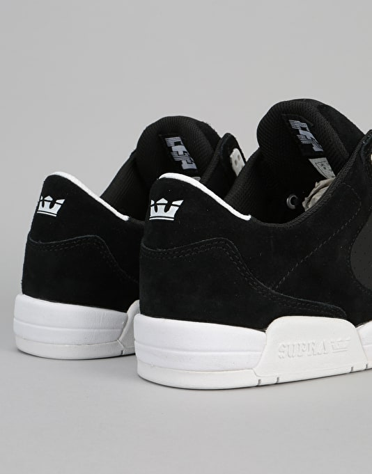 Supra Ellington Skate Shoes - Black/White