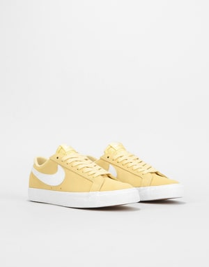 Nike SB Zoom Blazer Low Womens Trainers - Lemon Wash/Summit White