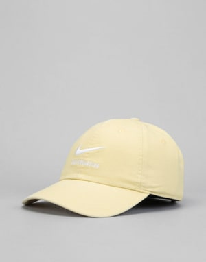 Nike SB H86 Twill Cap - Lemon Wash/Lemon Wash/White