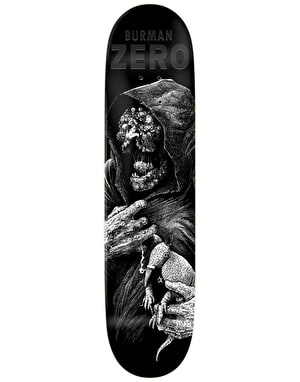 Zero Burman Faces of Death Pro Deck - 8.375