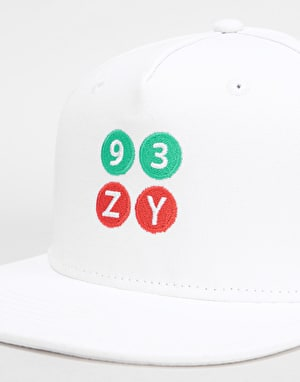 Zoo York Stacker Snapback Cap - White