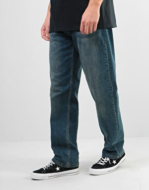 Route One Nineties Denim Jeans - Mid Wash