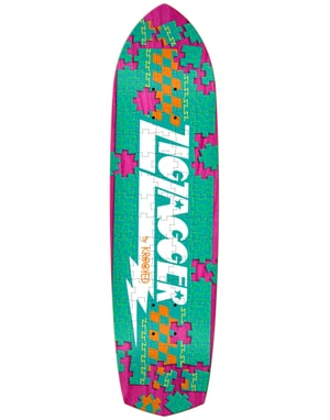 Krooked Zip Zagger Piece Out Cruiser Deck - 8.6