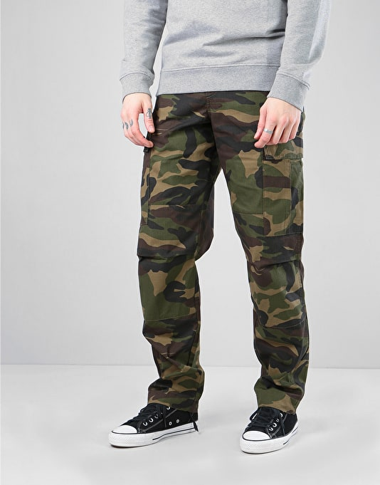 Route One Cargo Pants Camouflage Cargo Pants Mens Skateboard