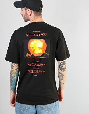 Butter Goods Nuclear War T-Shirt - Black