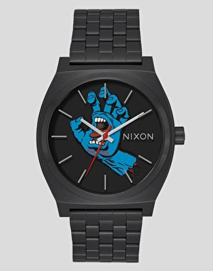 Nixon x Santa Cruz Time Teller Watch - Black/Screaming Hand