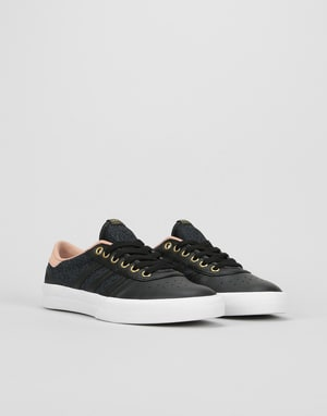 Adidas Lucas Premiere Womens Trainers - Core Black/Ash Pearl/Gold