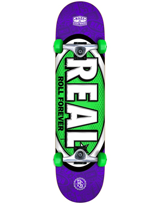 """Real Oval Tones Complete Skateboard - 7.5"""""""