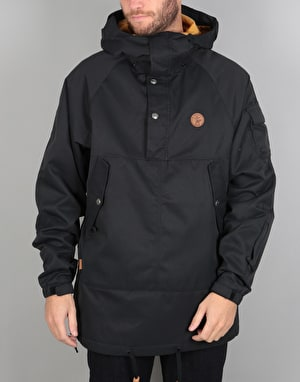 ThirtyTwo Caravan Anorak 2018 Snowboard Jacket - Black