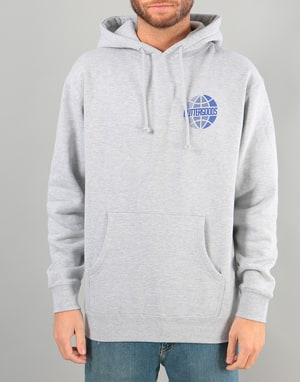 Butter Goods Lateral Worldwide Logo Pullover Hoodie - Heather