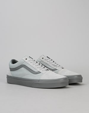 Vans Old Skool Skate Shoes - (C&D) High-Rise/Pewter