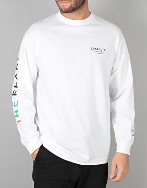 Lakai The Flare L/S T-Shirt - White