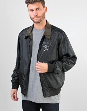 Thrasher Gonz Reversible Coaches Jacket - Black/Camo