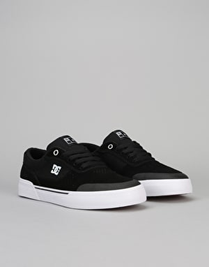 DC Switch Plus S Skate Shoes - Black/White