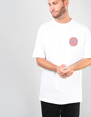 Butter Goods Keyline Worldwide T-Shirt - White