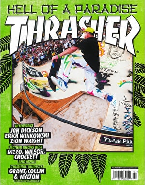 Thrasher Magazine Issue 456 July 2018