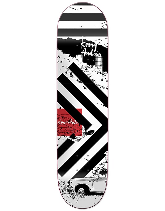 Chocolate x Evan Hecox Anderson Out West Skateboard Deck - 8.125""