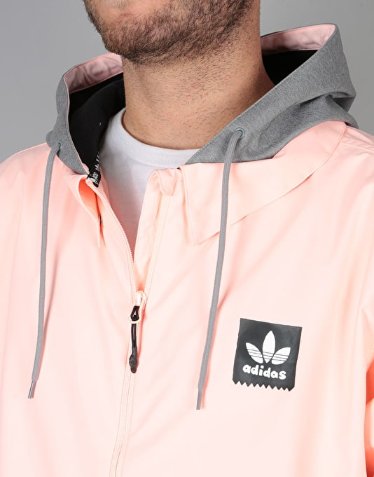 Adidas x Gonz Civillian ADV 2018 Snowboard Jacket - Haze Coral/Heather