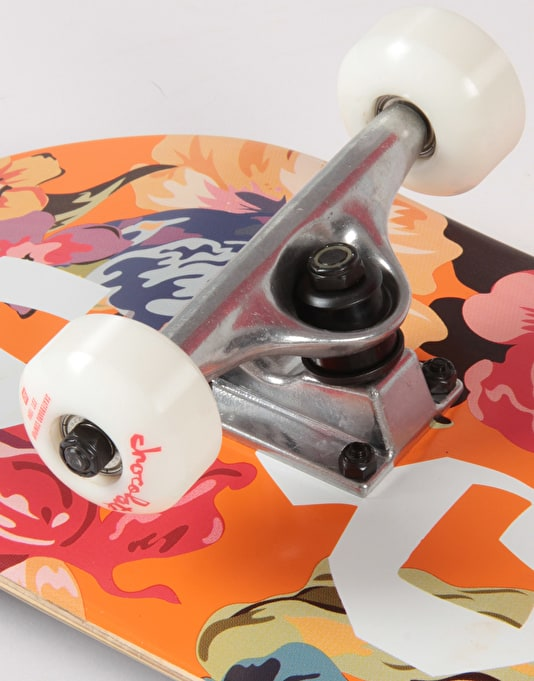 """Chocolate Tershy Floral Chunk Complete Skateboard - 7.75"""""""