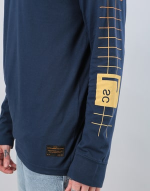 Levi's Skateboarding Graphic L/S T-Shirt - Pool Gradient