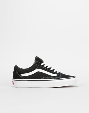 Vans Old Skool Womens Trainers - Black/White