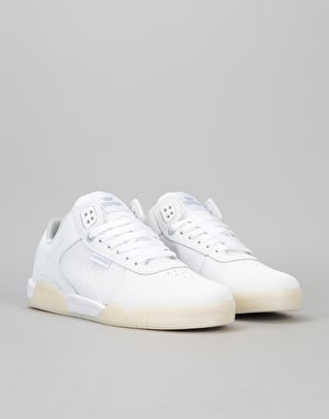 Supra Ellington Skate Shoes - White-White