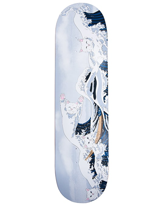 RIPNDIP Great Wave of Nerm Team Deck - 8.25""