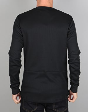 Nike SB L/S Thermal T-Shirt - Black/Black
