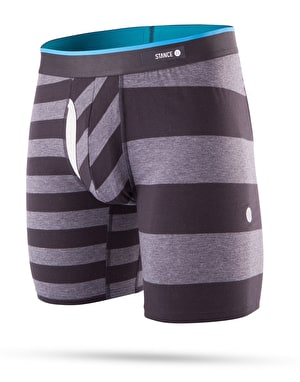 Stance Mariner 17 Combed Cotton Boxer Shorts - Black