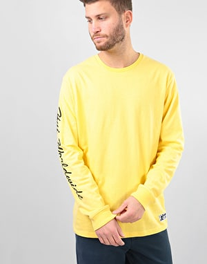 HUF x Felix The Cat Felix Santee L/S T-Shirt - Banana
