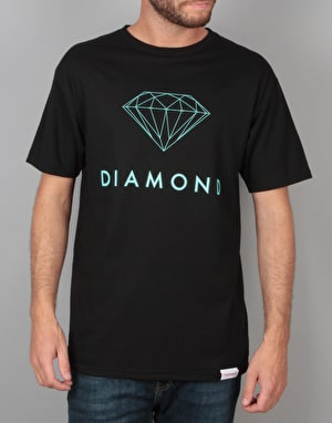 Diamond Supply Co. Futura Sign T-Shirt - Black