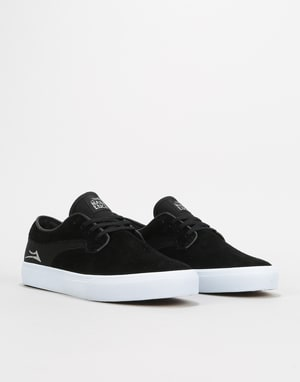 Lakai x Hard Luck Riley Hawk Skate Shoes - Black Suede