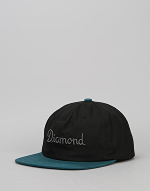 Diamond Supply Co. Champagne Strapback Cap - Blue
