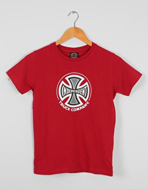 Independent Truck Co. Boys T-Shirt - Cardinal Red
