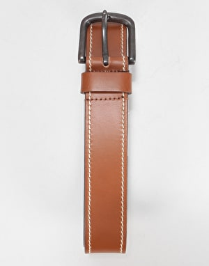 Dickies Branchville Leather Belt - Brown
