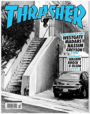 Thrasher Magazine Issue 459 October 2018