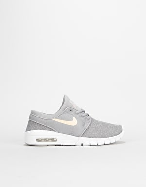 Nike SB Stefan Janoski Max Boys Skate Shoes  - Atmosphere Grey/Crimson