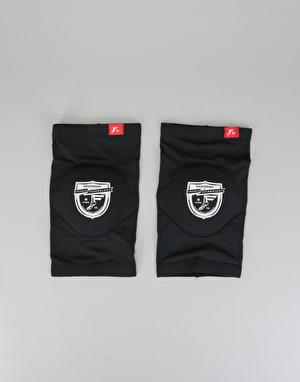 Footprint Shield Logo Low Profile Elbow Pads - Black