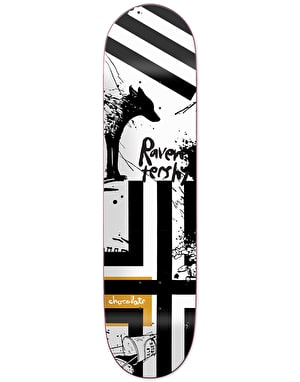 Chocolate x Evan Hecox Tershy Out West Skateboard Deck - 8.5