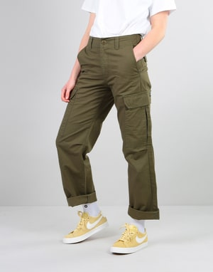 Dickies Womens New York Pants - Dark Olive