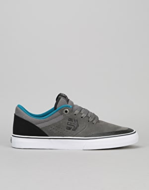 Etnies Marana Vulc Skate Shoes - Grey/Black/Blue