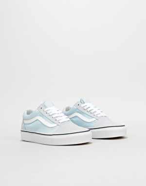 Vans Old Skool Womens Trainers - Baby Blue/True White