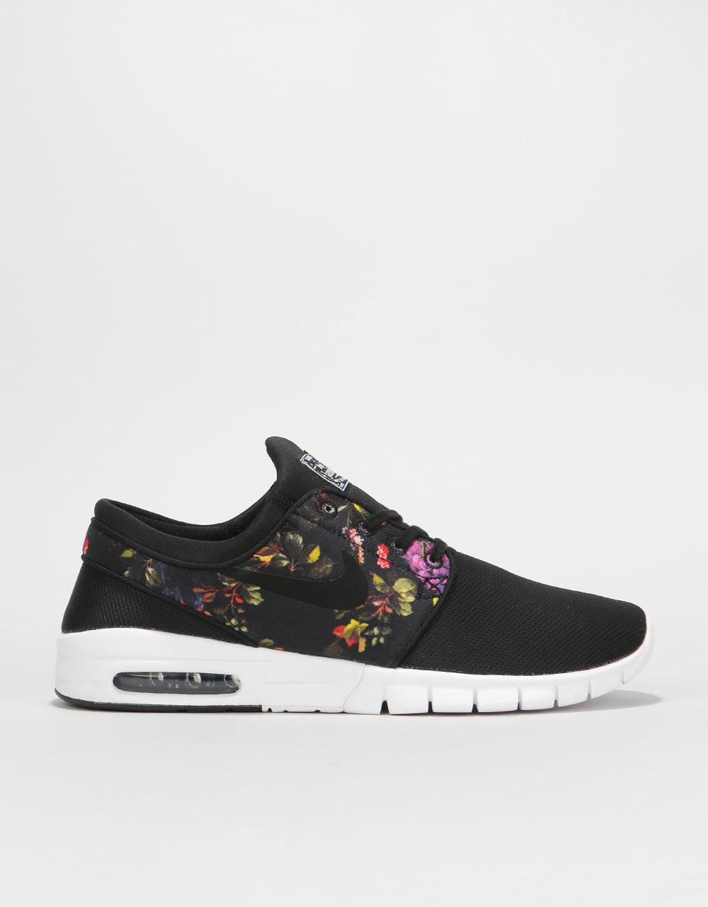 competitive price 79361 0720e Nike SB Stefan Janoski Max Skate Shoes - Black Black-Multi-Color   Mens  Runners   Trainers, Sneakers   Footwear   Route One